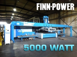 Punch FINN-POWER 3000 X 1500 MM (USED)